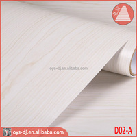 Furniture Sticker 1.22*50m PVC Wood grain Film Self Adhesive Foil