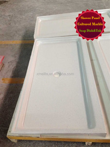 Cultured Marble Artificial Stone Resin Shower Base
