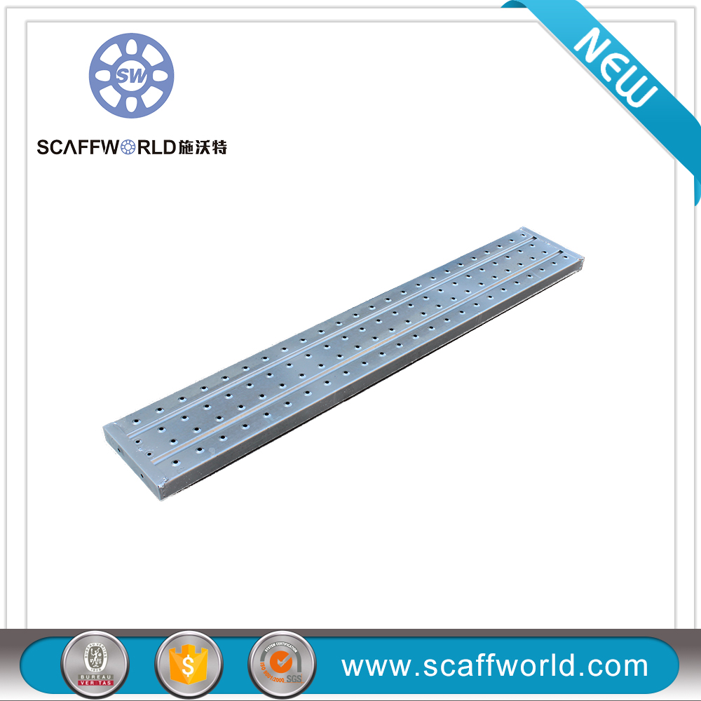 Cheap galvanized customized size scaffolding perforated steel plank