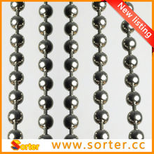 2015 hot sale stainless steel metal ball beaded chain dream curtain