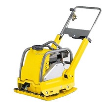 Easy transportation with foldable handle loncin plate compactor machine/used wacker plate compactor for sale
