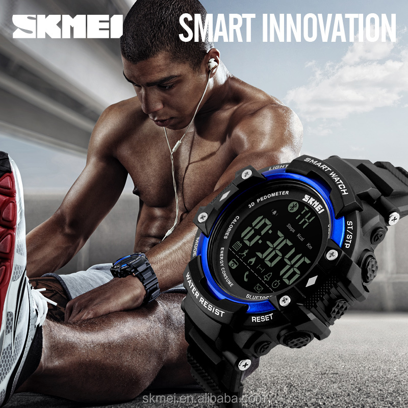 Skmei watch shop online stylish smart bluetooth watch bracelet phone reminder
