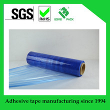 2017 new hot sale blue PE strech film protective film