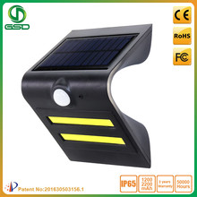 IP65 Solar Power Wall Lamps Wireless Outdoor PIR Motion Sensor Solar Security LED Light for Garden Street