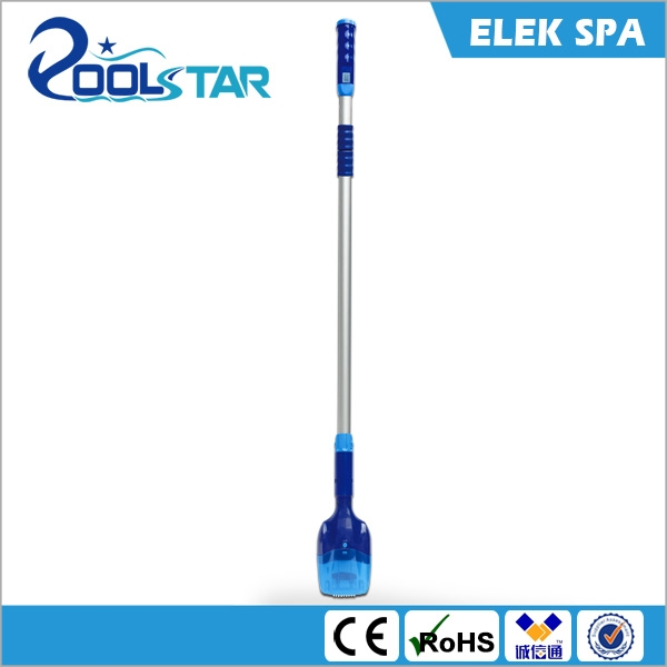 Aquajack Elek Spa New style Swimming Pool&Spa Battery Electric vacuum cleaner head with telescopic pole for intex