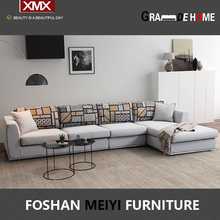 Modern style new L shape corner sofa set design for living room 3304