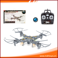 New products 2.4G 4channel 6 axis gyro 4d flip rc quadcopter with camera