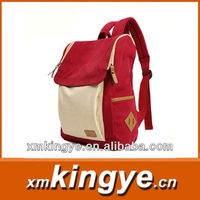 2013 fashion canvas backpack wholesale