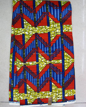 Classical design 100% cotton wax fabric african wax print fabric 6 yards H814
