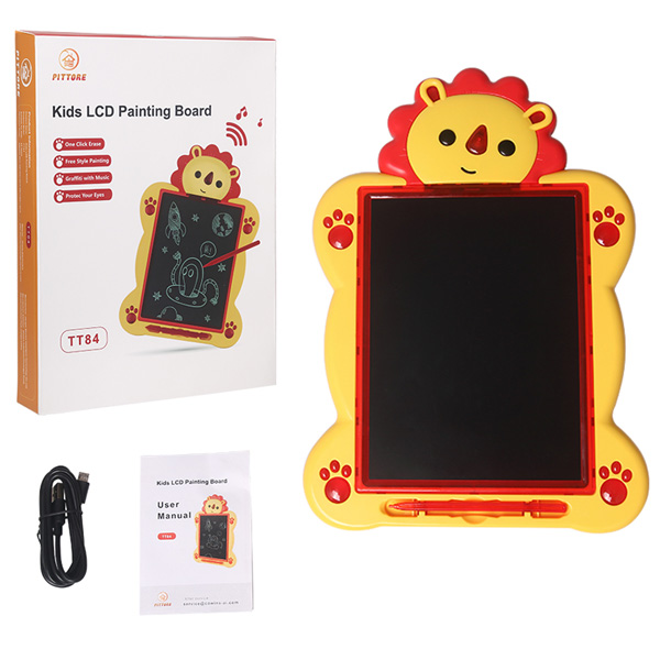 Eco-friendly paperless home school office kids LCD small blackboard LCD writing borad