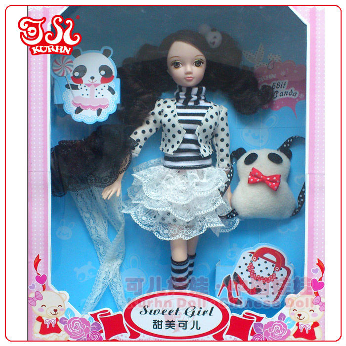 Best selling fashion lovely plastic dream of doll
