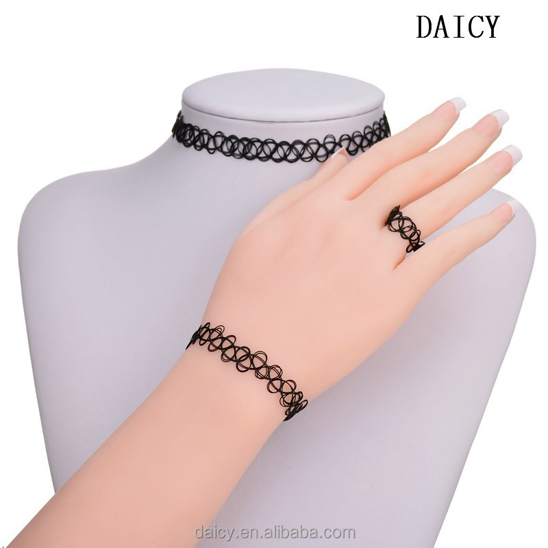 DAICY cheap wholesale black fishing line braided elastic tat ring