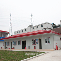 popular cheap prefab houses, sandwich panel ,modular prefab house wood