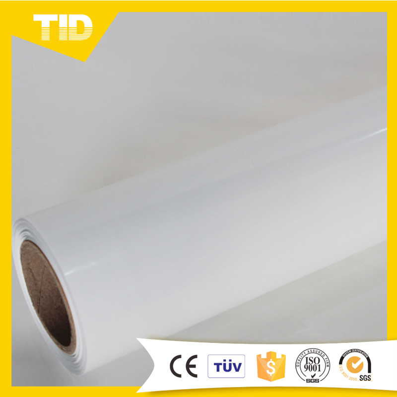 PU material eco solvent printable heat transfer vinyl white color