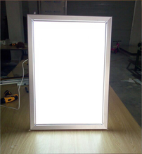 Easy And Simple To Handle led menu acrylic light box for restaurant