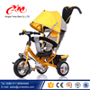 Alibaba factory wholesale 10 inch baby tricycle with handle/3 wheels plastic big wheel trike/Child best tricycle sale