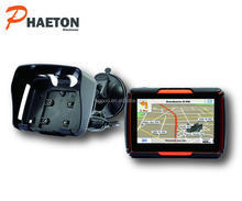 "Built in bluetooth gps navegador moto 4.3"" 128 RAM and 4GB gps navigator for motorcycle"