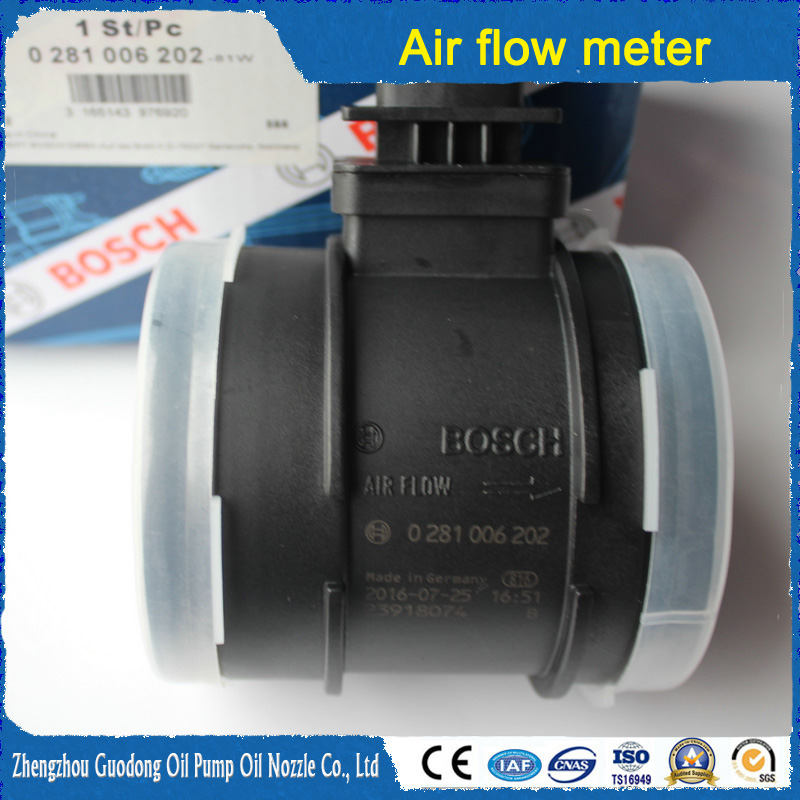 Common rail Bosch air flow meter 0281006202 for auto parts F00C2G7020