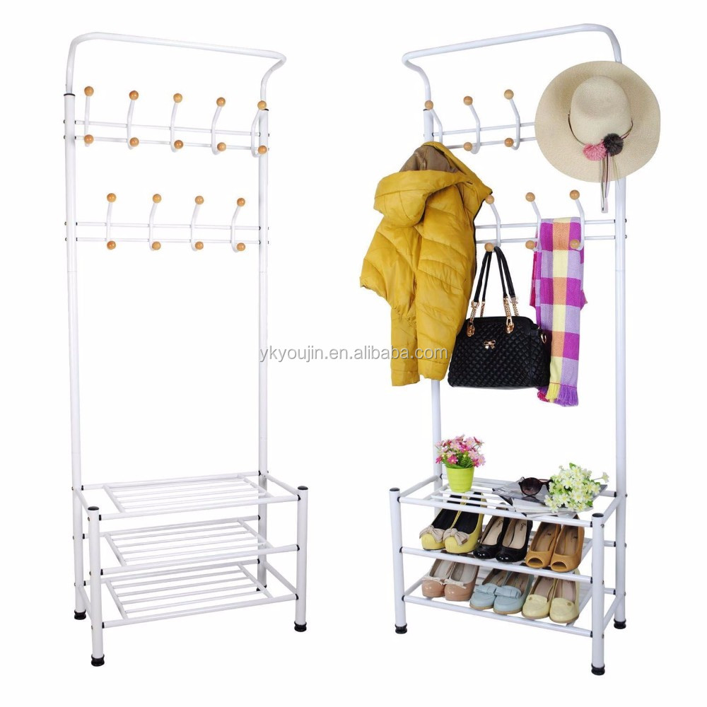 Over-The-Door 18-Pair Wire Shoe Rack, Versatile and Multi-functional Storage