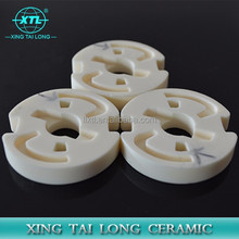 Dry press 95% 99% alumina ceramic parts for furnace,High quality alumina ceramic substrate