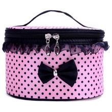 Girls Makeup Handbag Top Quality Portable Travel Toiletry Cosmetic Bag Organizer Holder For Beauty
