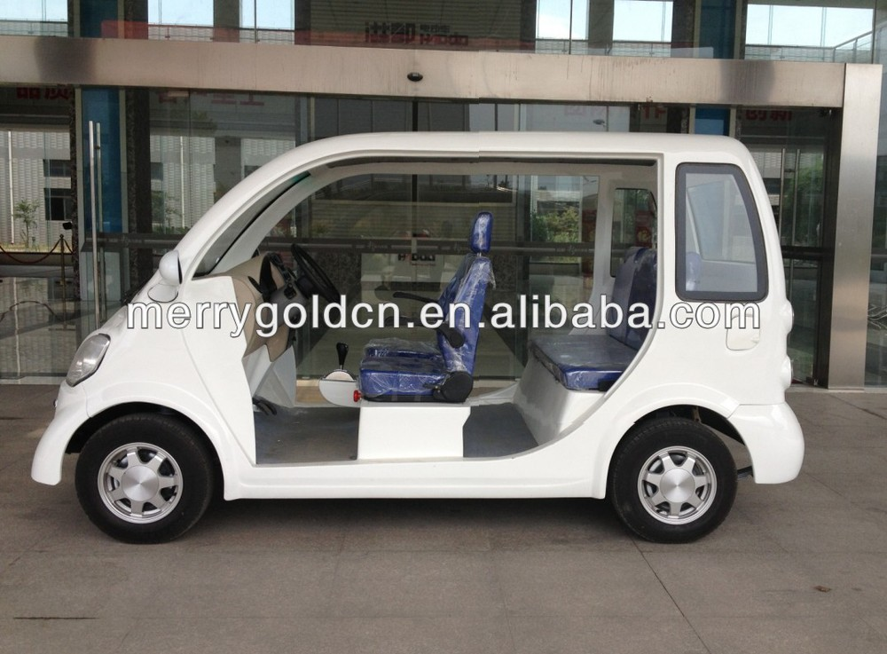 2015 hot mini 2 row seats electric tourist bus for sale