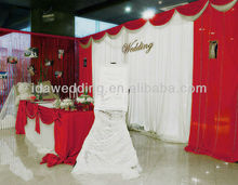 IDA New arab style curtains design 2013 for wedding/trade show/exhibition decoration