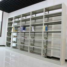 Book shelf, 6 layers school library metal bookcase,wholesale bookshelves