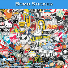 CARLIKE HD-007 1.52x30M Free Blue Hot Sale Graffiti Bome Sticker Vinyl Film