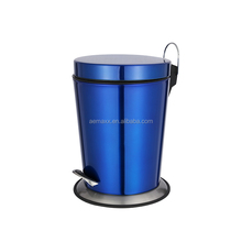 12 L Foot stand stainless steel Pedal operated Recycle Waste Bin Rubbish garbage Dust can
