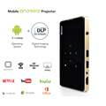 QINTAIX MSP05 Inteligente smart projector Amlogic S905 HD 4 K 2 K Smart DLP Projektor android 5.1 2GB RAM 16GB ROM