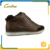 Wholesale high quality lace up ankle leather boots for men