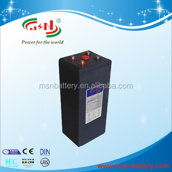 Germany Standard Solar Gel Deep Cycle Battery 2V 100Ah Battery Solar