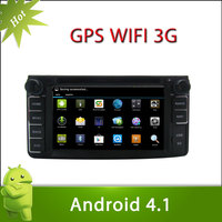"Pure Adnroid 4.1 TOYOTA Daihatsu Bego Car DVD GPS Player 6.2"" Capacitive and Multi-touch Screen 3G Wifi BT Radio Stereo"
