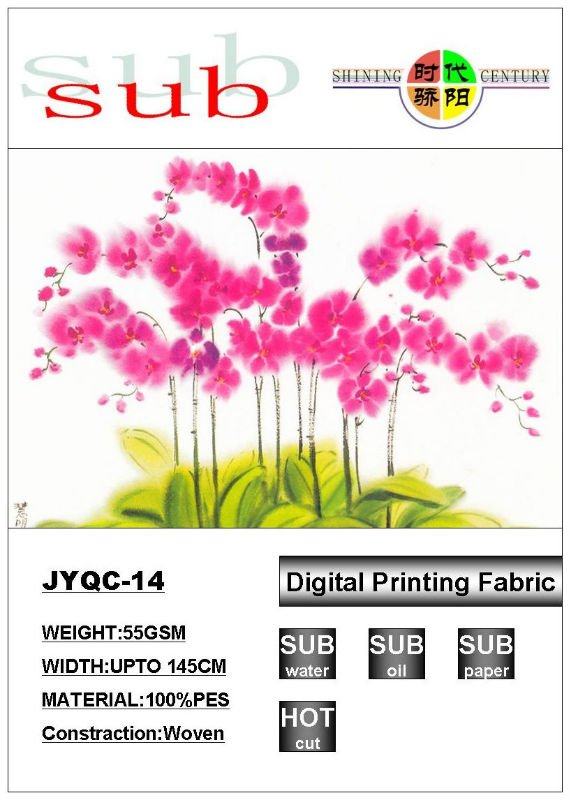 coated polyester fabric for direct printing