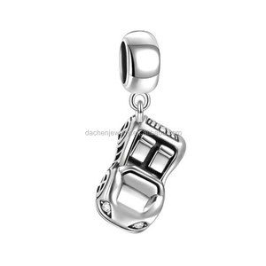 Car Silver Charm Pendant 925 Sterling Silver Jewelry Bijoux Accessories