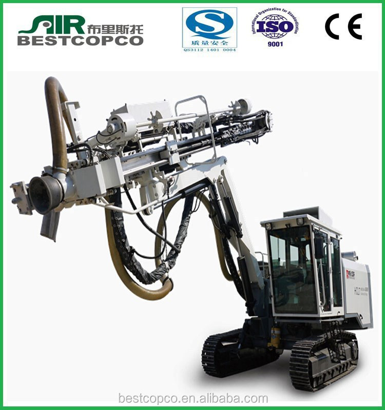 used truck mounted water well drilling rig for hard rock, blasting hole