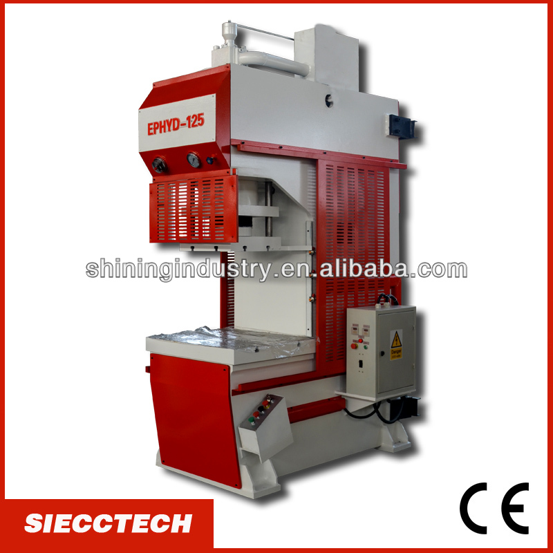 SIECC METAL PLATE HYDRAULIC STAMPING AND PUNCH MACHINE