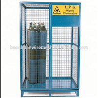 China Manufacture With Collapsible Direct Gas Cylinder Storage Cage Products Exported To UK