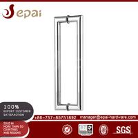 Industrial entry key door handle lock set for wooden and metal door
