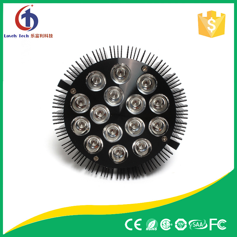 54w par led grow lights,factory sales full spectrum uv ir grow lights,45w led light
