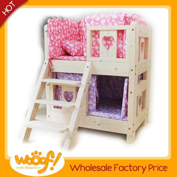 Hot selling pet dog products high quality bunk bed for dogs