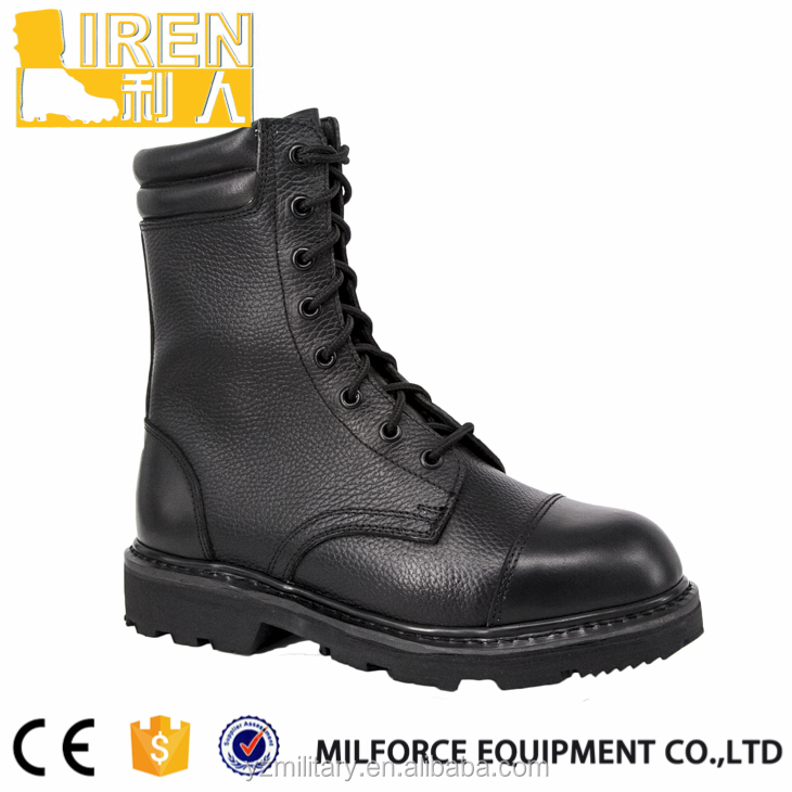 Liren-hot selling high quality ankle parade top military boots
