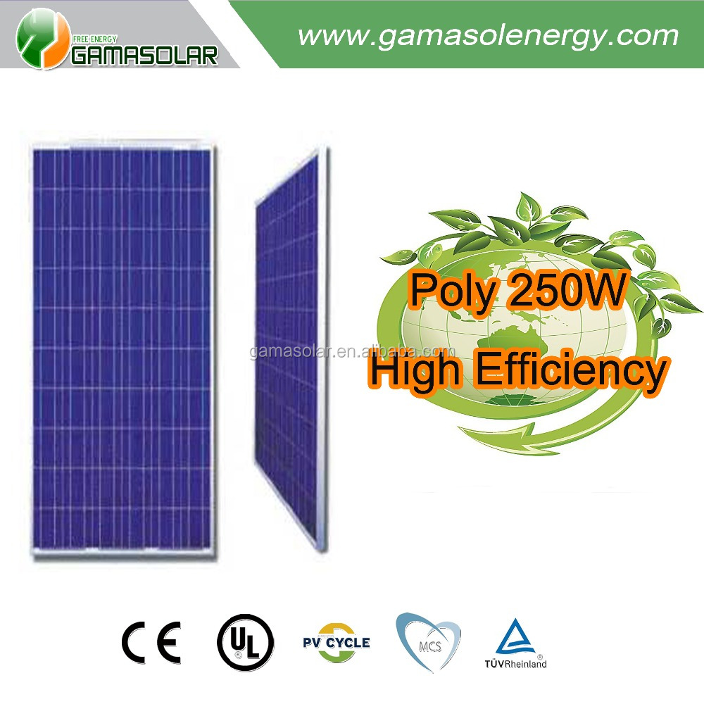 High quality export germany 250 watt solar panels for home price lowest