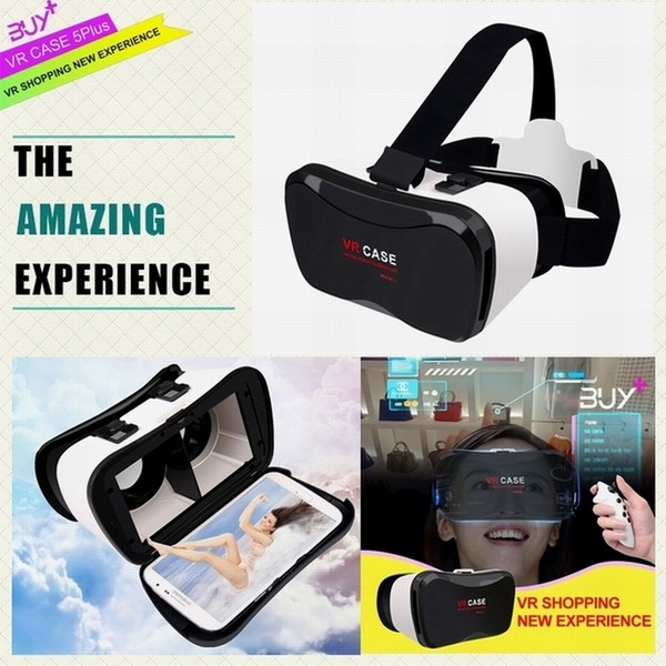 Original VR Case manufacturer fit for 4.0inch - 6.3inch smart phone 100 degree the hottest VR Case 5 plus