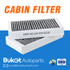 Auto carbon air filter for MERCEDES 164 MODEL (OEM1648300218 CUK2646-2 LAK295/S E2912LC01-2)