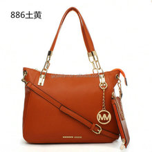 OEM order 2015 fashion designer PU leather women handbags manufacturer cheap price branded woman shoulder bags composite bags