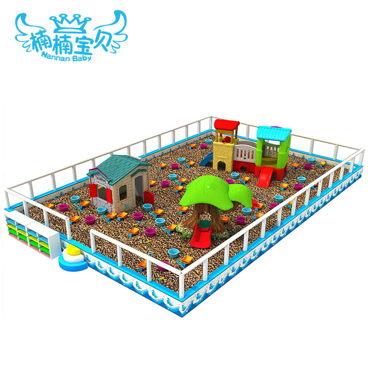 Updated newest and high quality play house in children soft indoor playground