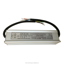 CE ROHS approved IP67 dimmable constant voltage led driver 12V 60W, 0/1-10v dimming better than triac type