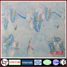 Heat transfer printed hot stamping foil for decoration